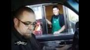 Starbucks Drive thru - First Demo 01 Tahoe 4 18s Rf Amps!