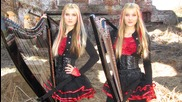 Iron Maiden - Fear of the Dark (harp Twins) Camille and Kennerly