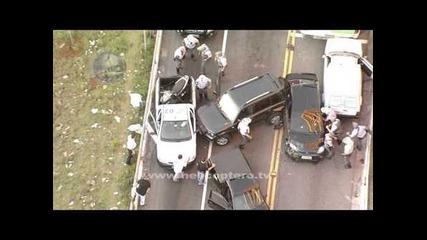 Престъпник вдига на крак цялата полиция от Сао Пауло - Бразилия!