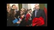 Бойко Борисов в посолството на Р. България в Лондон