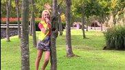 Violetta: людмила - снимане на видео с нея
