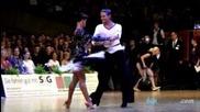 Nino Langella - Kristina Moshenskaya, Goc Stuttgart 2012, Wdsf Grand Slam latin, final - chachacha