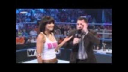Layla, Michael Cole & Kharma Segment - Wwe Smackdown 5/13/11