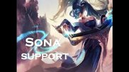 League of Legend - Sona Support - Full Game Commentary