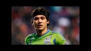 Прекрасен гол от далечно разстояние на Фреди Монтеро ( La Galaxy vs Seattle Sounders)