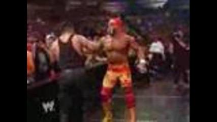 Hulk Hogan vs The Undertaker 2002 - part 1/2