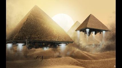 Секретные территории - Пирамиды. Внеземные технологии