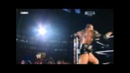 John Cena vs. Batista Wrestlemania 26 Part 1/3 (hd)