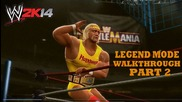 Wwe 2k14 30 Years of Wrestlemania Walkthrough Hulkamania Runs Wild Part 2