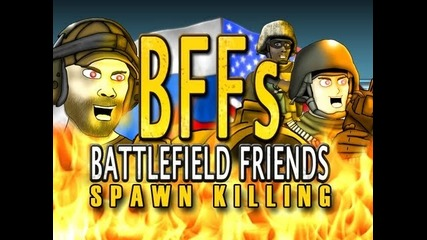 Battlefield Friends- Spawn Killing