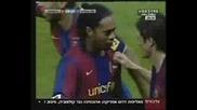 Последният гол на Роналдиньо за Барса !