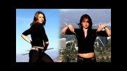 Stunt Girl Nunchuck Practice 2008