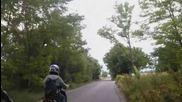 Части от карането ни до Пчелина с Мото Клуб Наглите (moto Club Insolent)