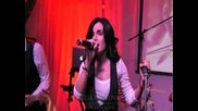 Julia Volkova - Live at Mechta Cafe (moscow)
