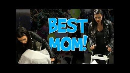 Kim Kardashian -- Look! I'm a Great Mom!
