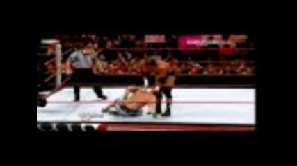 Triple H vs. John Cena Part 1 of 2 (cena Last Match On Raw?)