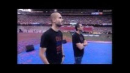 Fc Barcelona - La festa del doblet