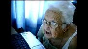 Как реагира бабка на изплашване