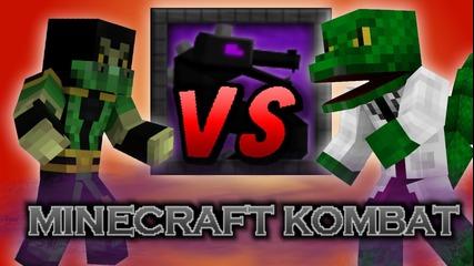 Minecraft Epic Battle Reptile Vs Lizard