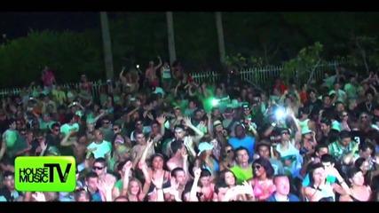 Fedde Le Grand Smacks them Up @ Beatport Party Maimi Ultra - Lee Kalt - Dj Lifestyle Video Hmtv live