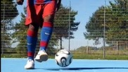 футболни трикове Лионел Месси тренировка