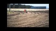 Revert: Factory Suzuki rider Petar Petrov at Lommel