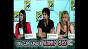 Дневниците на Вампир -comic Con 2012