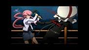 [hd] Mirai Nikki episode 5 Climax part ( Eng subbed )
