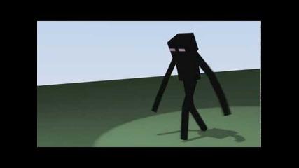 Enderman анимация