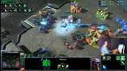 Starcraft2- Pvp Старгате срещу роботикс теч