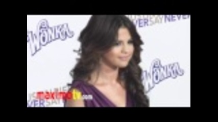 "Selena Gomez at ""never Say Never"" Premiere In Los Angeles"