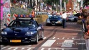 Ferrari 550 Maranello + Bugatti Veyron 16.4 - Sound and Accelerating!! 1080p Hd