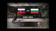 Slovakia vs. Bulgaria - Esec 2014 на de_inferno