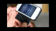 Kiano 4: Worlds Thinnest iphone Keyboard Case