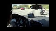 Audi R8 X Kawasaki Ninja Zx10r X Suzuki Gsxr1000