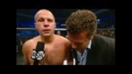 Fedor vs. Dan - Full Fight With Interview