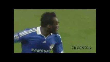 Essien Goal - Chelsea vs Barca .. Semi Finals