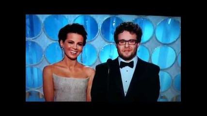 Seth Rogen Presents A Golden Globe