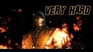 Mortal Kombat X - Scorpion Very Hard Klassic Tower | 0 Losses [2015]