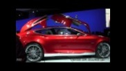 Ford Evos Concept Gullwing Door Action - Dc Auto Show 2012