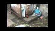 Кочината и боклуците след края на ралито в Русе,12.06.2011