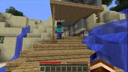 Minecraft - Castaway Island Survival - Ep. 5 Разглеждането На Нови Острови и Грамадното Дърво