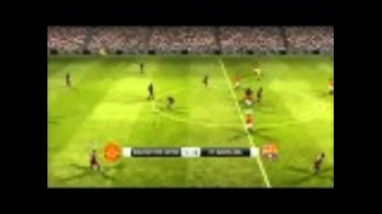 Fc Barcelona vs Manchester United 2011 Champions League Final Pes