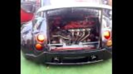 Fiat 500 V8 Ferrari Engine