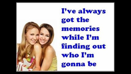 Miley Cyrus and Emily Osment - Wherever I Go