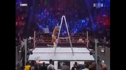 Rey Mysterio vs Alberto Del Rio vs Edge vs Kane Highlights Wwe Tlc 2011