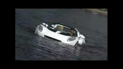 Rinspeed's first underwater Car