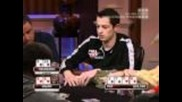 Tom Dwan calls with 9 High!!!