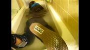 Къпане след излагане на силен пороен дъжд