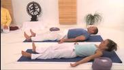 Yogastunde Mittelstufe komplett in 90min